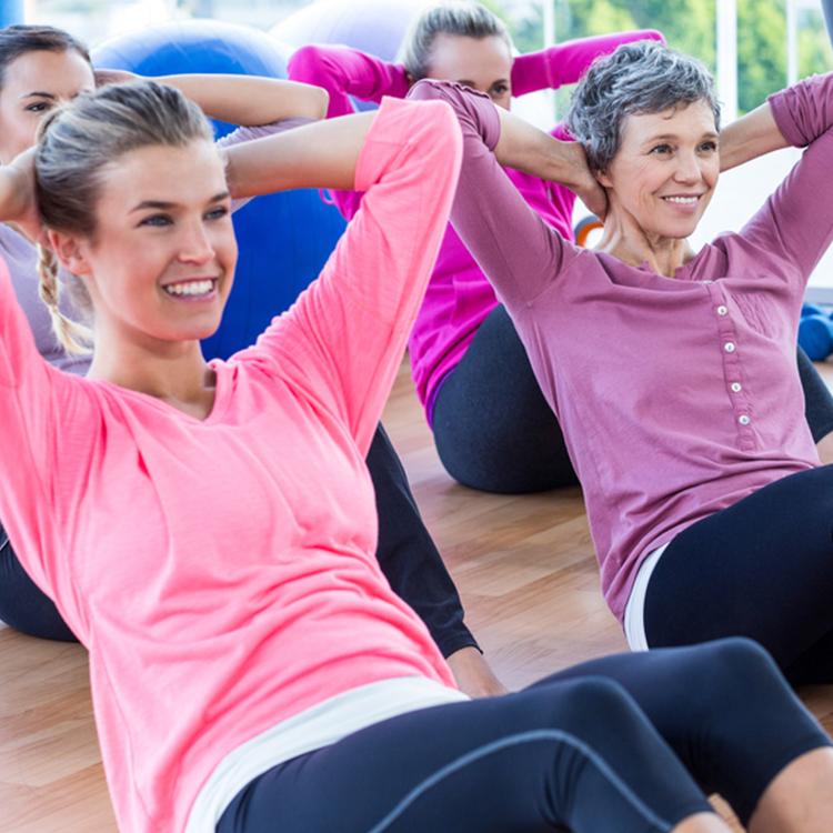 Nutzen Sie in Ihrer Mittagspause unser Beamer-Workout!